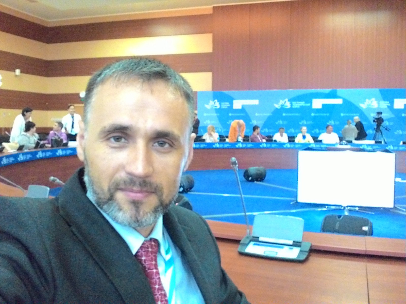 Журавлёв Александр Александрович, на общественном совете, Восточный экономический форум 2016