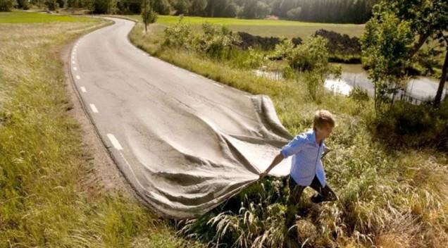 Дорога возникает под ногами идущего